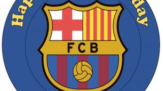 FCB Barcelona Cake Topper