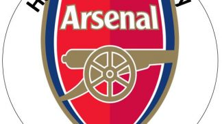 Arsenal Cake Topper Style 1