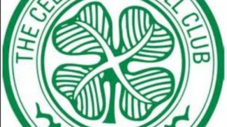 Glasgow Celtic Cake Topper