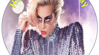 Lady Gaga Cake Topper