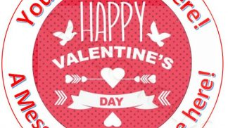 Cakeoholix Cake Toppers Valentine Day
