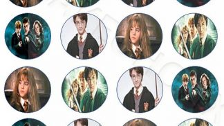 Cakeoholix Harry Potter Cupcake Toppers