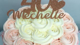 Cakeoholix Glitter Birthday