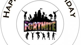 Cakeoholix Fortnite Cake Topper Design