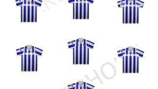 Cakeoholix Sheff Wed Football Cup Cake Toppers