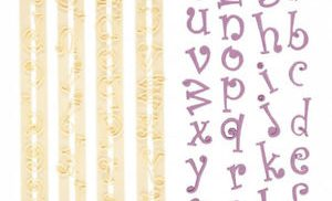 FMM chunky funky alphabet lower case tappit set