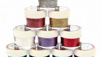 RAINBOW DUST non-toxic cake decoration glitters 5g