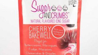SUGAR & CRUMBS cherry bakewell flavoured icing sugar 500g