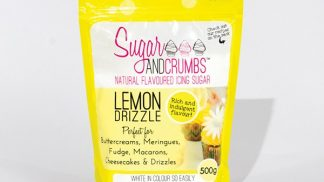 SUGAR & CRUMBS lemon drizzle flavoured icing sugar 500g