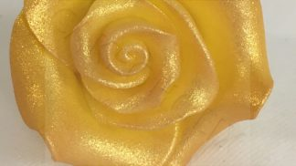 SUGARSOFT rose lustre gold 38mm