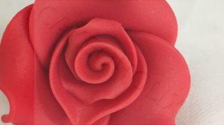 SUGARSOFT rose strawberry 38mm