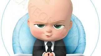 Boss Baby Cake Topper